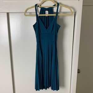 Soprano Halter Pleated Dress